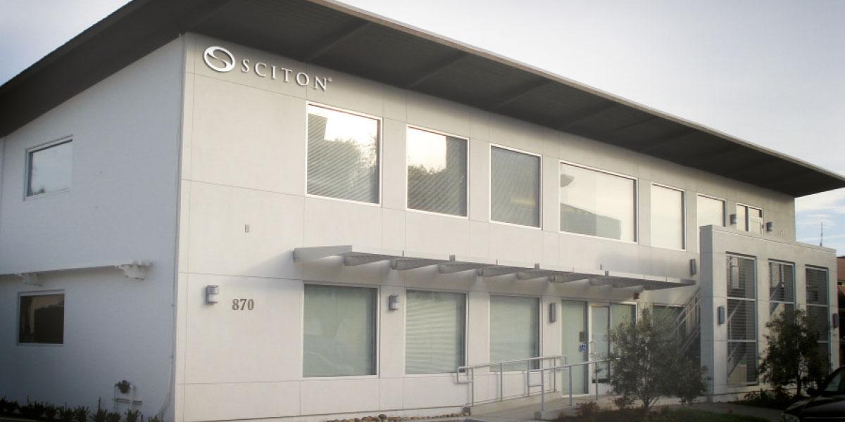 Sciton здание